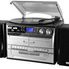 reproductor vinilo y casette