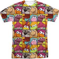 camiseta de los ochenta Fraggle Rock