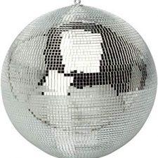 Bola de espejos para fiesta de los 80 temática