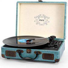 tocadiscos reproductor vinilo vintage retro